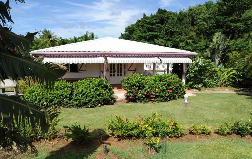 Les bungalows et villas piscine et jacuzzi de la route des for Bungalow avec piscine martinique