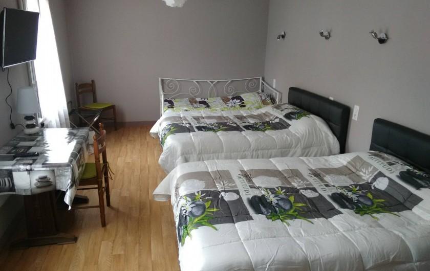 Location de vacances - Hôtel - Auberge à Céaux - chambre familiale 5 personnes