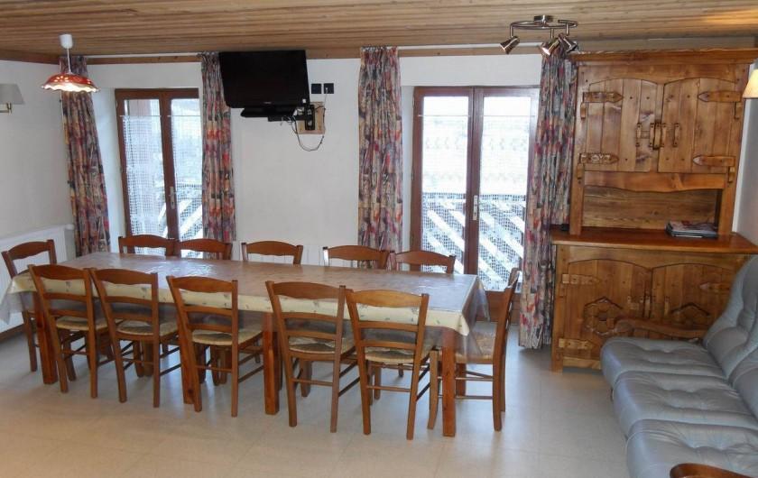 Location de vacances - Appartement à Lanslebourg-Mont-Cenis - Le Roc Noir