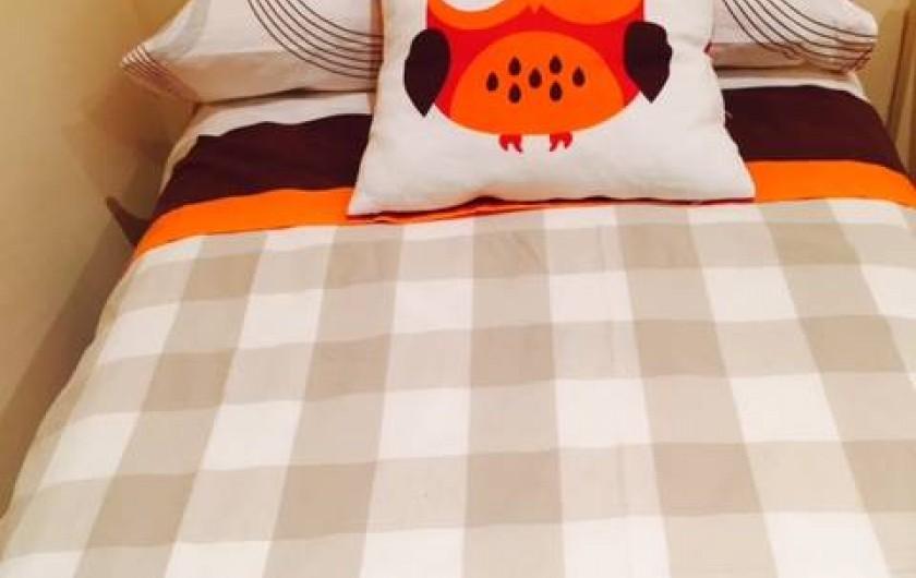 Location de vacances - Appartement à Besalú - Deux lits individuels.