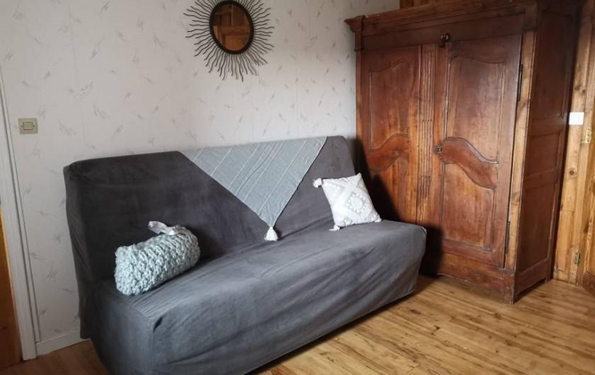 Location de vacances - Chambre d'hôtes à Vernet-la-Varenne - Espace détente avec clic -clac