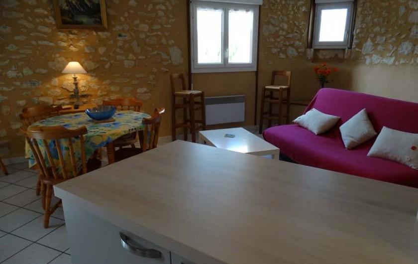Location de vacances - Gîte à Lisle - Salon et cuisine