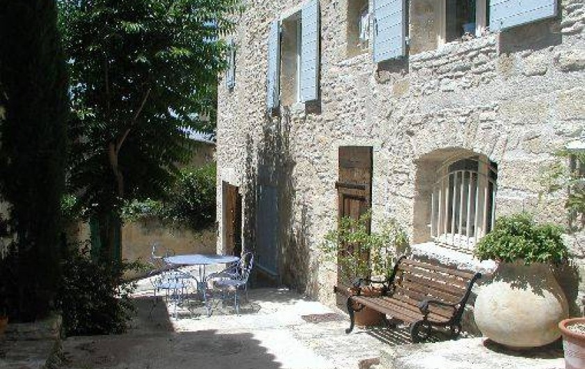 Location de vacances - Appartement à Robion - Coté sud