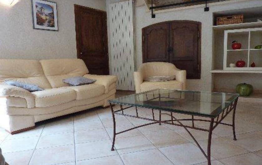 Location de vacances - Appartement à Robion - Living room