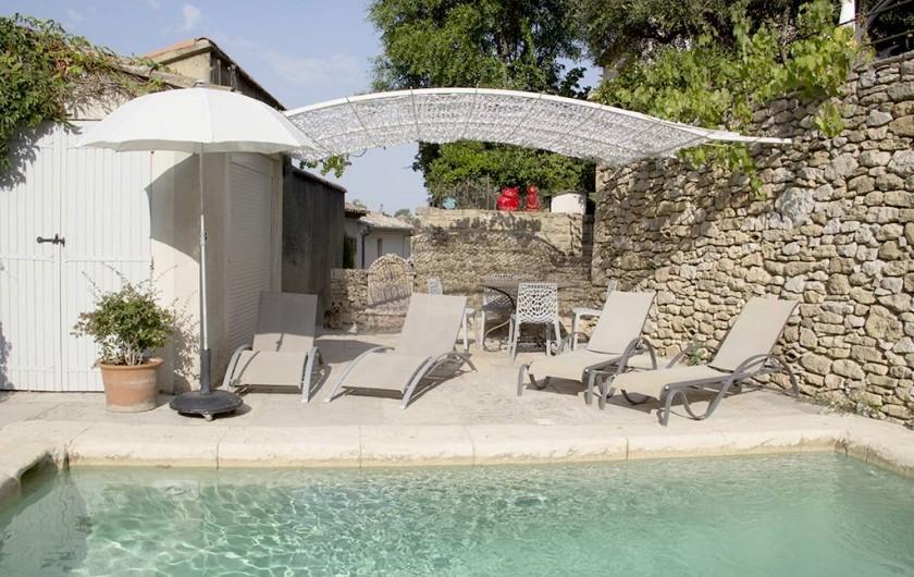 Location de vacances - Appartement à Robion - Coté détente