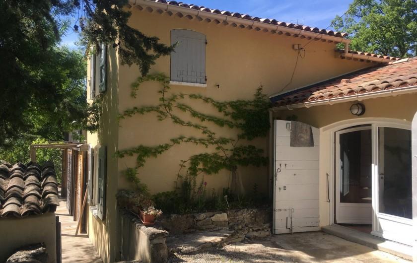 Location de vacances - Villa à Saignon - Entrée