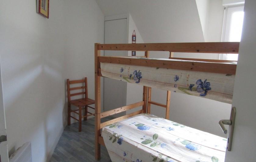 Location de vacances - Maison - Villa à Penvins - 2 lits superposés