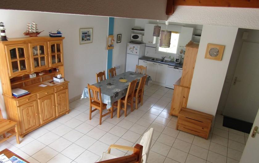 Location de vacances - Maison - Villa à Penvins - four tradi four micro onde  frigo plaques induction lave vaisselle