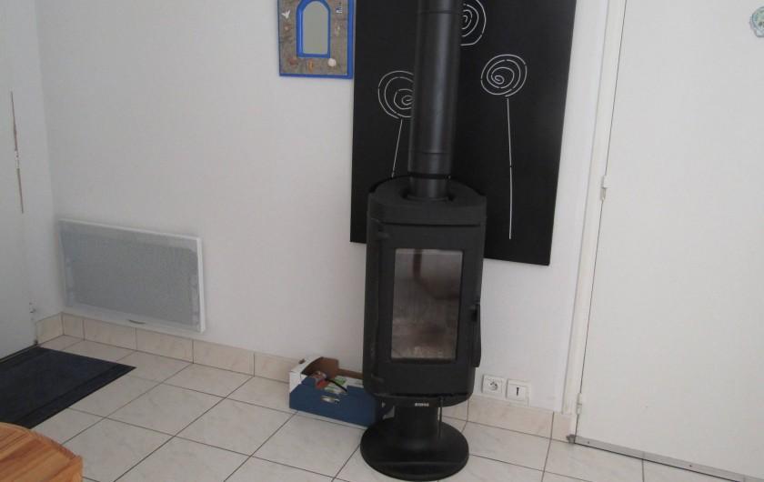 Location de vacances - Maison - Villa à Penvins - pour des soirées plus froide poêle a bois