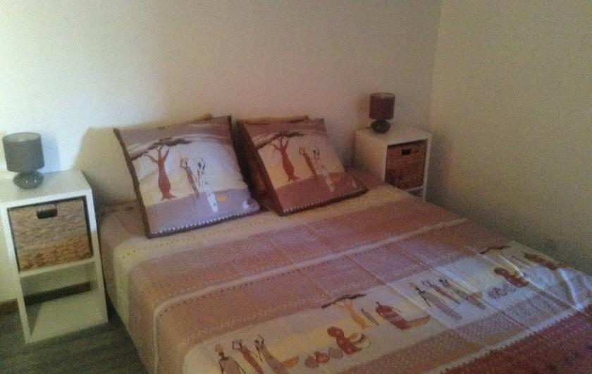 Location de vacances - Chalet à Saint-Leu - Chambre lit 160
