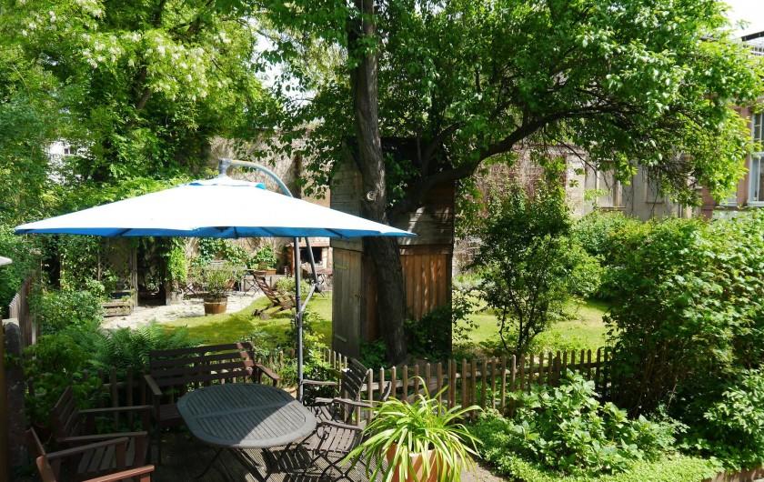Location de vacances - Appartement à Dresde - Dans le jardin