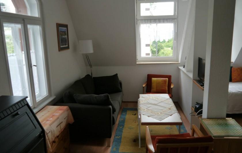 Location de vacances - Appartement à Dresde - une partie du salon