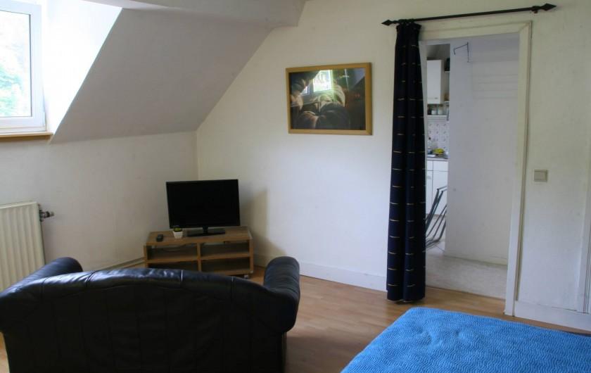 Location de vacances - Studio à Spa - meublé 2 chambre coin salon