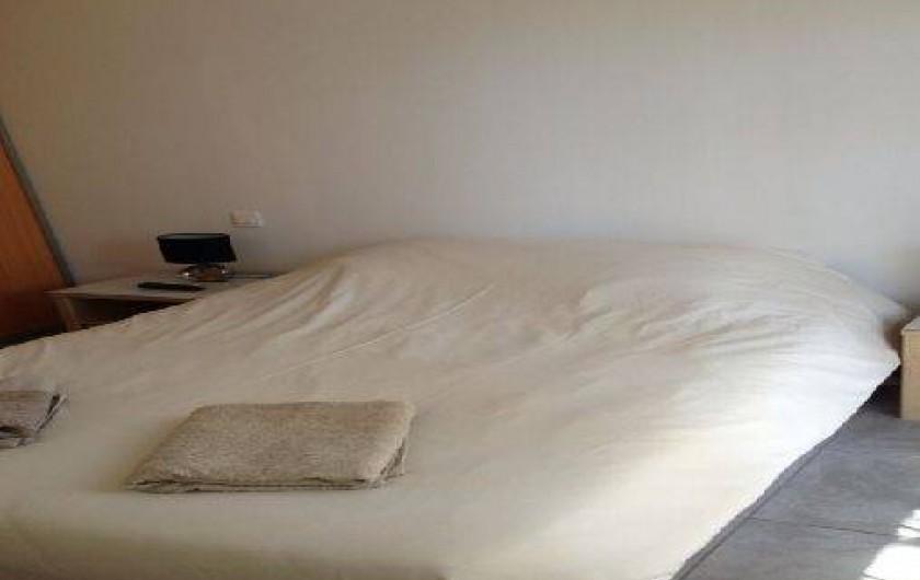 Location de vacances - Appartement à Porticcio - chambre parentale  lit 160/200