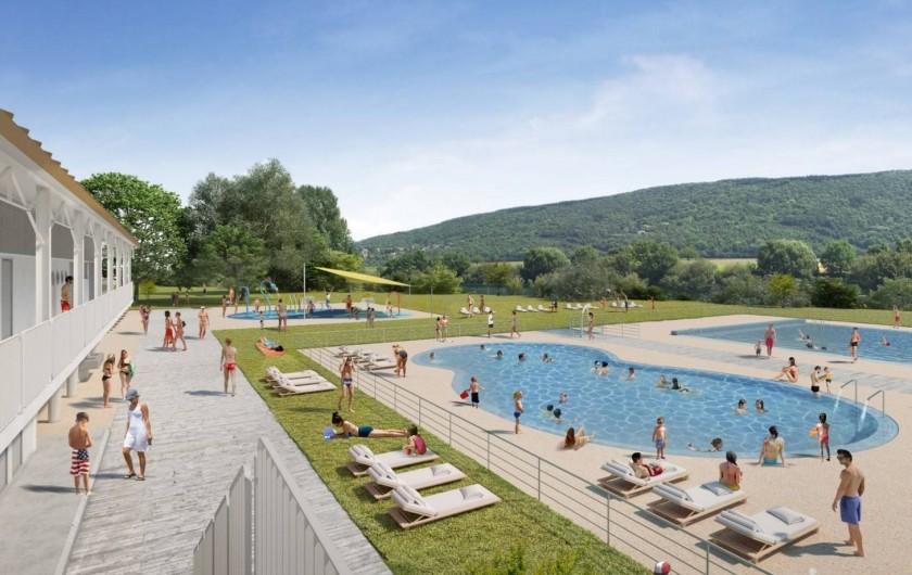 Location de vacances - Bungalow - Mobilhome à Chalezeule - Projet de rénovation de la piscine, ouverture fin prévue juin 2019