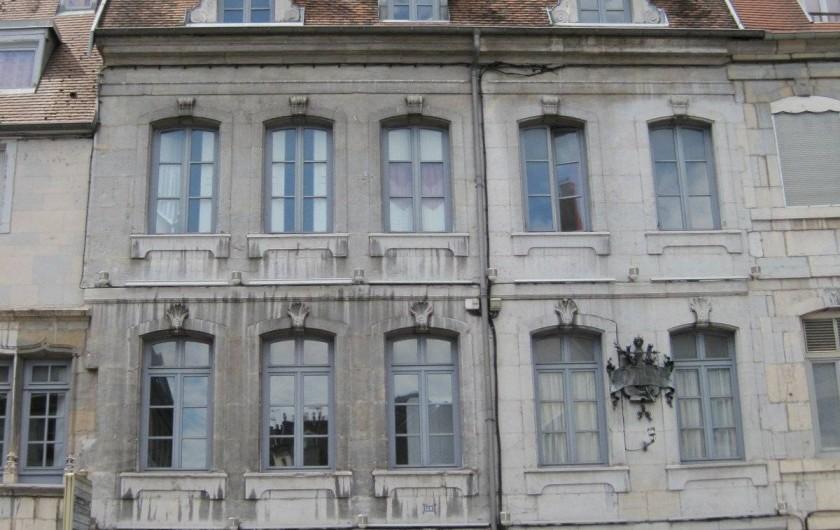 Location de vacances - Bungalow - Mobilhome à Chalezeule - La maison natale de Victor Hugo