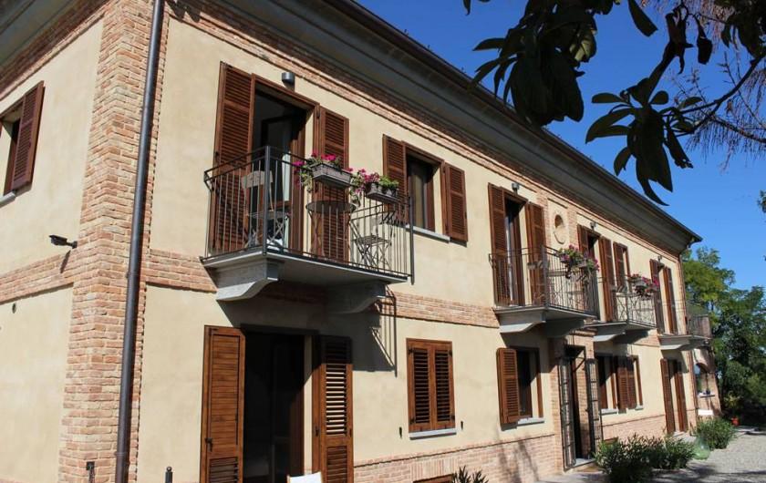 Location de vacances - Chambre d'hôtes à Vigliano d'Asti - La Maison. Alta Villa The Countryhouse