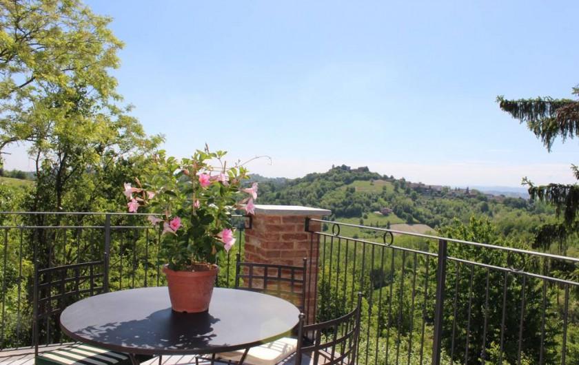 Location de vacances - Chambre d'hôtes à Vigliano d'Asti - La Terrazza