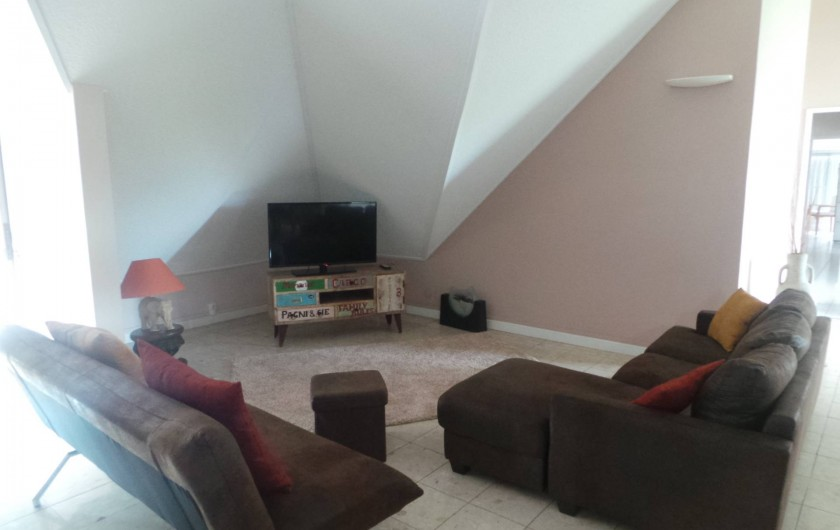 Location de vacances - Appartement à Saint-Paul - Le coin télé
