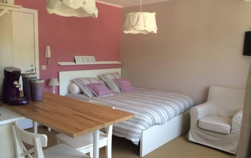 """Location de vacances - Studio à Namur - Studio 21: Décoration """"Scapa Home"""""""