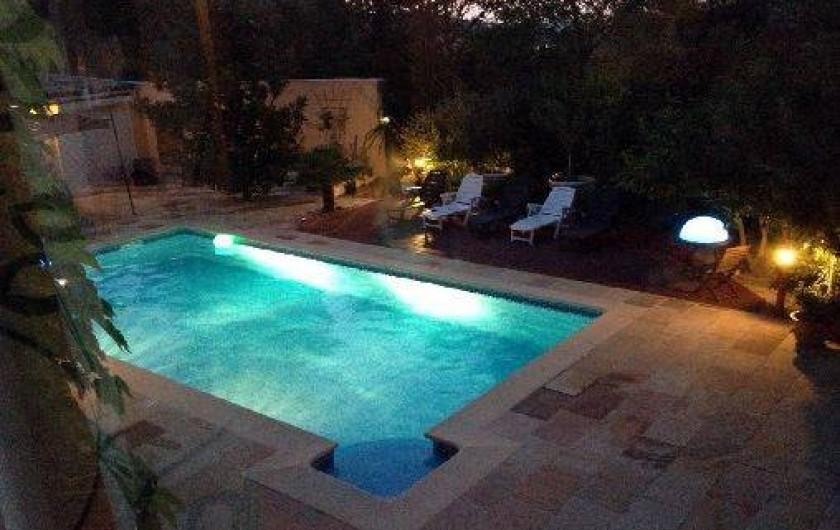 Location de vacances - Appartement à Le Tholonet