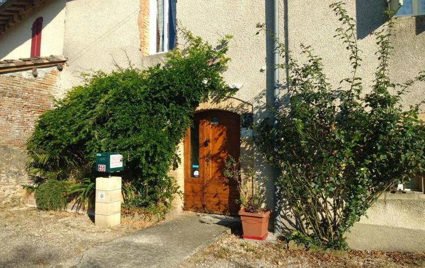 Location de vacances - Gîte à Salvagnac - L'entrée des voyageurs