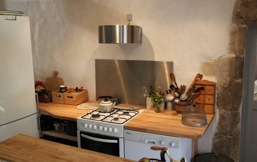 Location de vacances - Villa à Fontanes - cuisine