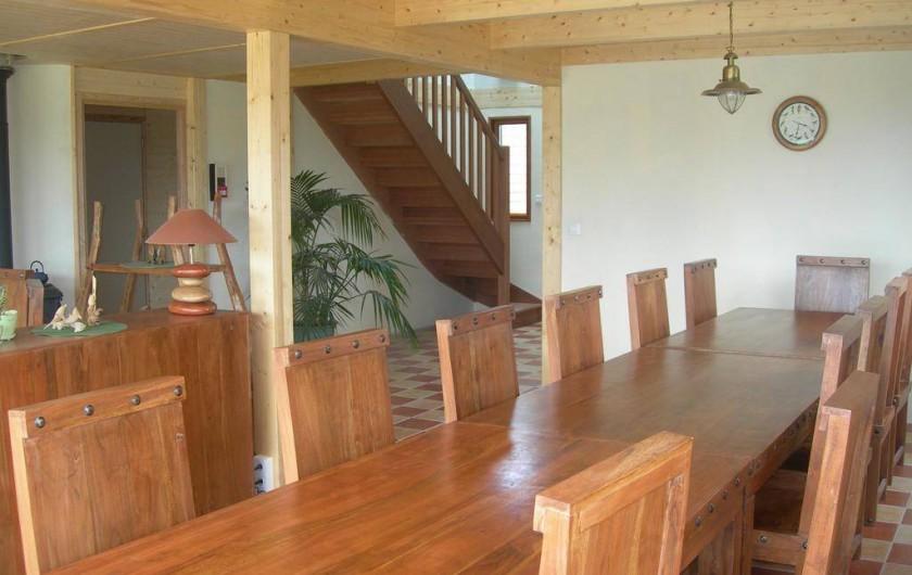 Location de vacances - Chambre d'hôtes à Lanildut - Séjour