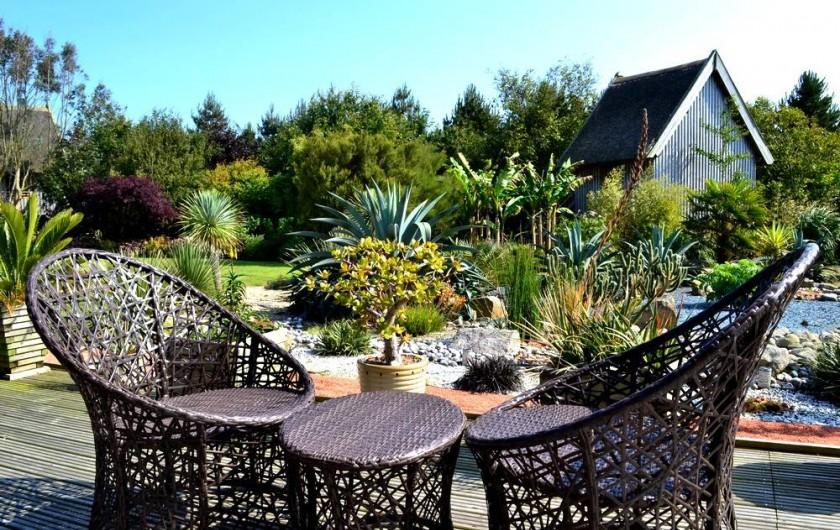 Location de vacances - Chambre d'hôtes à Lanildut - Terrasse