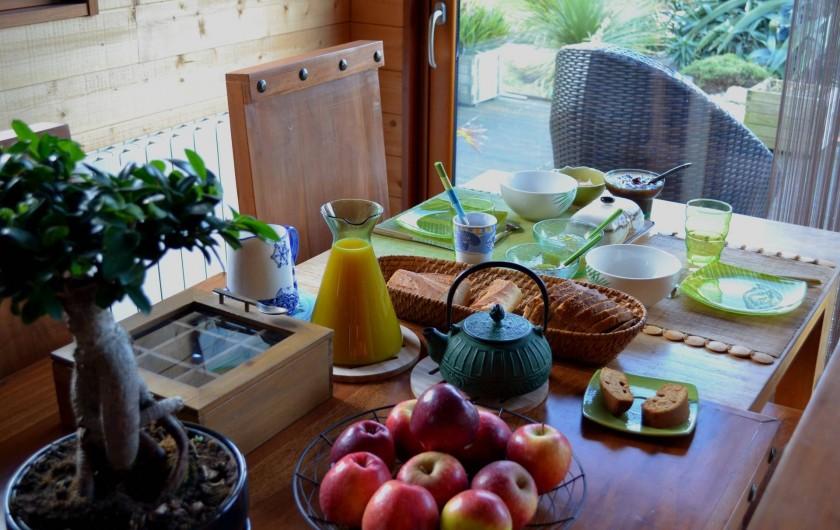 Location de vacances - Chambre d'hôtes à Lanildut - Petits déjeuners
