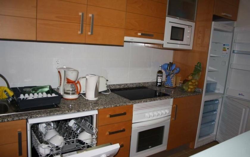 Location de vacances - Appartement à Orihuela - Cuisine équipée