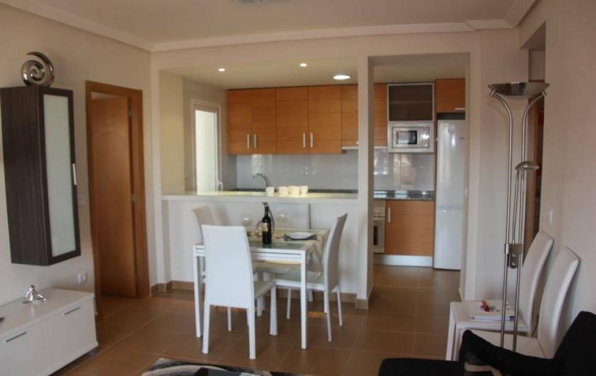 Location de vacances - Appartement à Orihuela - Salle à manger