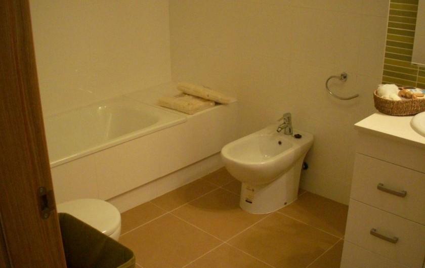 Location de vacances - Appartement à Orihuela - Salle de bains avec baignoire
