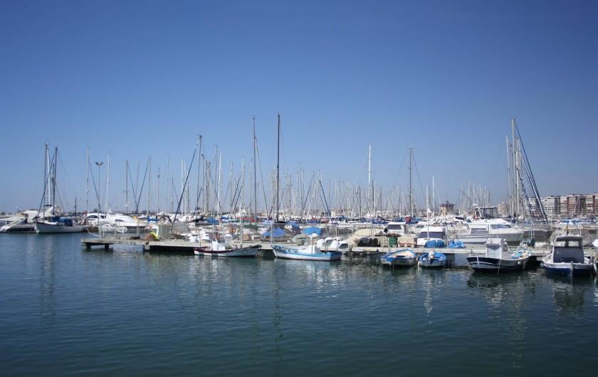 Location de vacances - Appartement à Orihuela - Petit port à proximité