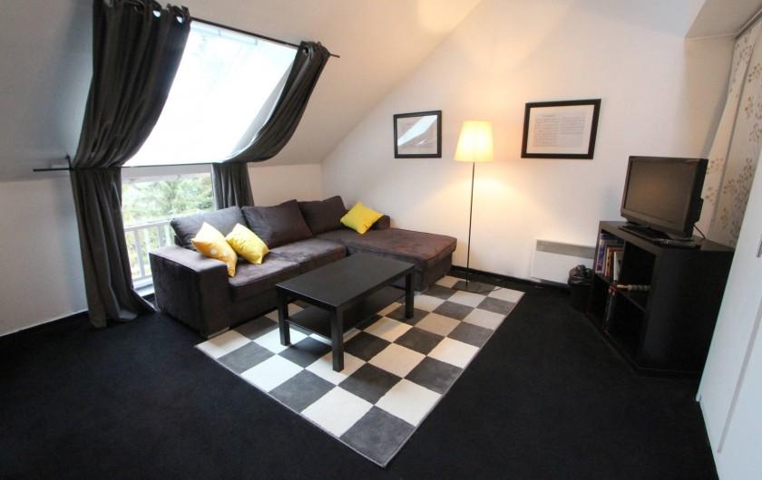Location de vacances - Villa à Moux-en-Morvan - salon pianissimo
