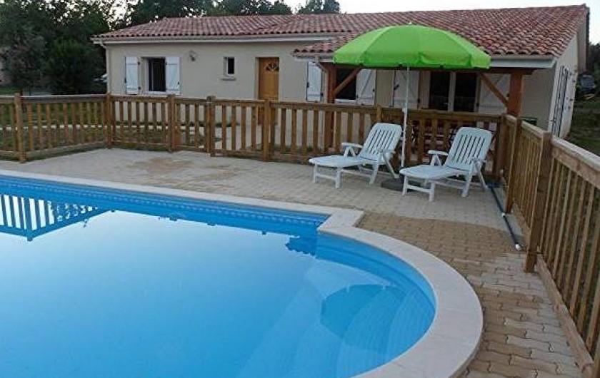 Location de vacances - Villa à Brossac - Villa Samare