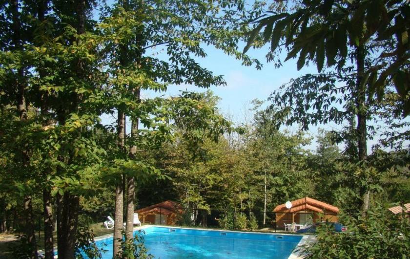 Location de vacances - Villa à Brossac - Piscine Chalets