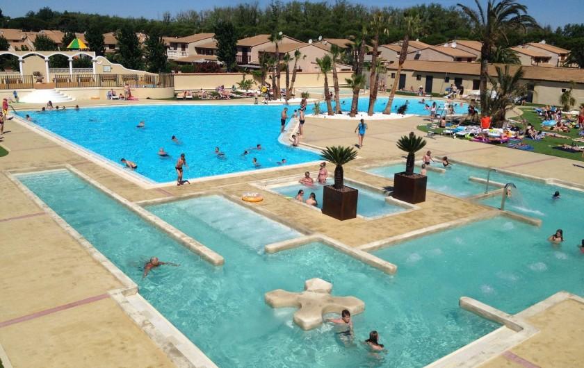 Location de vacances - Villa à Portiragnes Plage - Nouvelles infrastructures depuis juillet 2016
