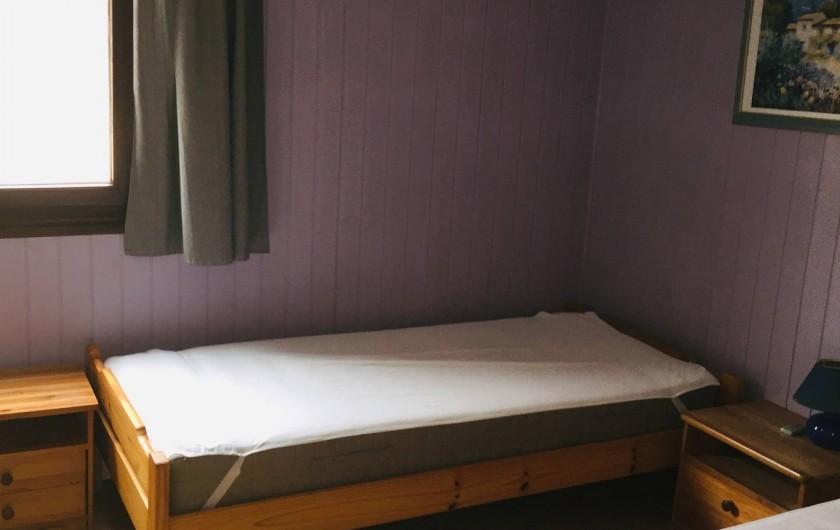 Location de vacances - Villa à Portiragnes Plage - Chambre 1
