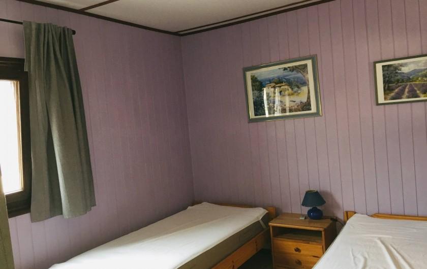 Location de vacances - Villa à Portiragnes Plage - Chambre 3