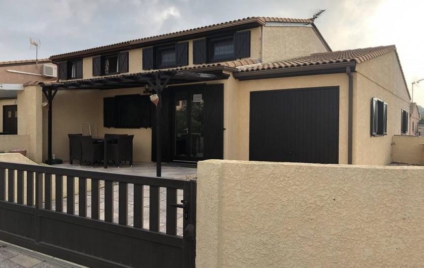 Location de vacances - Villa à Portiragnes Plage - Plage Est de Portiragnes-Plage