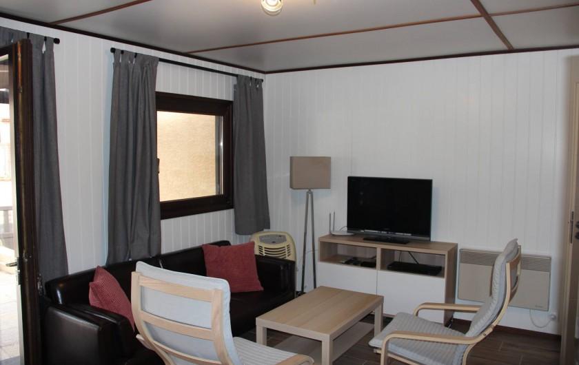 Location de vacances - Villa à Portiragnes Plage - salle à manger