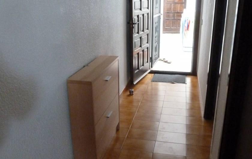 Location de vacances - Appartement à Roses - Couloir