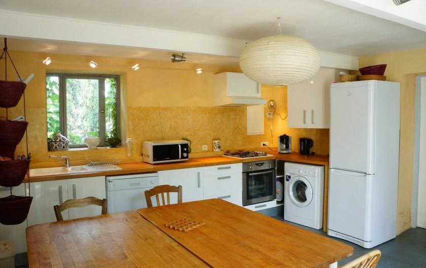 Location de vacances - Villa à Marsanne - Cuisine et salle à manger