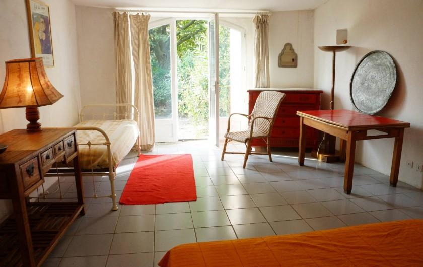 Location de vacances - Villa à Marsanne - Chambre du bas