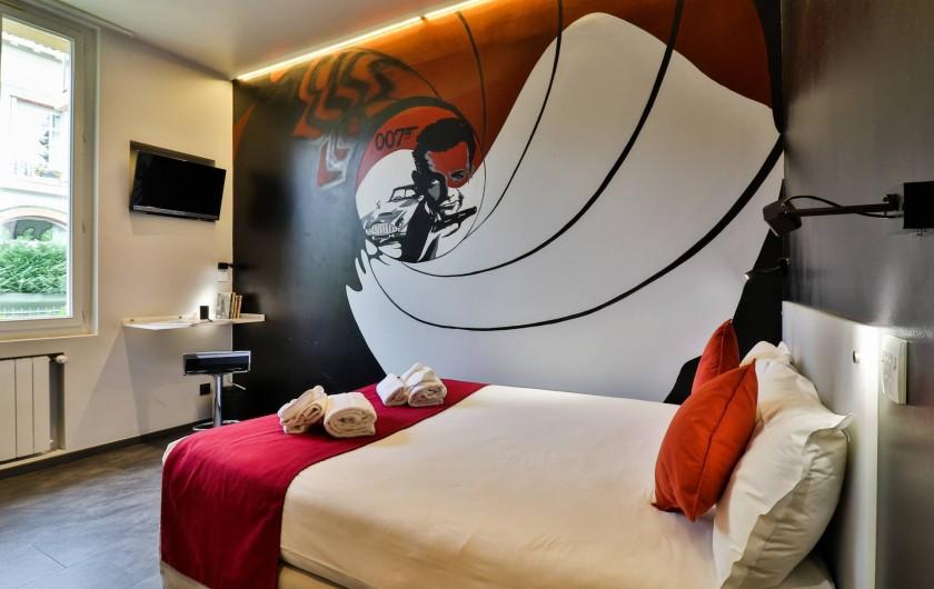 Location de vacances - Hôtel - Auberge à Cannes - chambre 0ss117 top secret