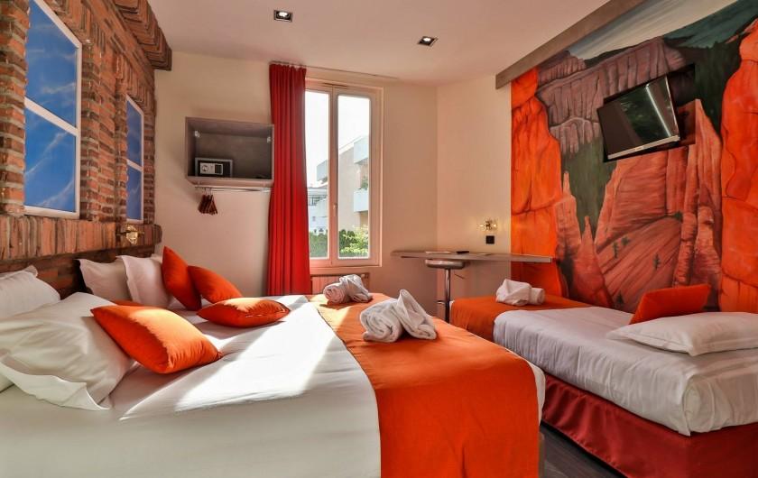 Location de vacances - Hôtel - Auberge à Cannes - Chambre familiale