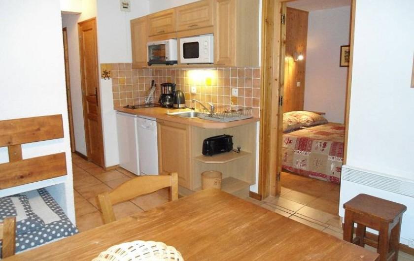 Location de vacances - Chalet à Cohennoz - LE PERCE NEIGE (n°6) - Appartement 5 pers. - Vue d'ensemble...