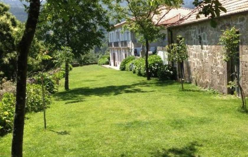 Location de vacances - Gîte à Santa Cruz do Lima - Vue pour la maison