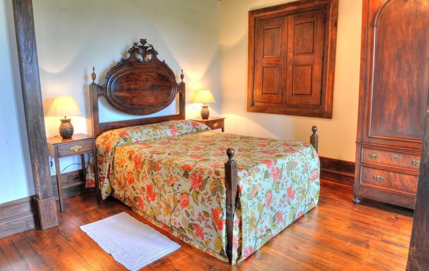 Location de vacances - Gîte à Santa Cruz do Lima - Chambre  Casa de Luou - 1er étage.